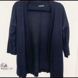 🍋 Zara - Open Navy Cardigan